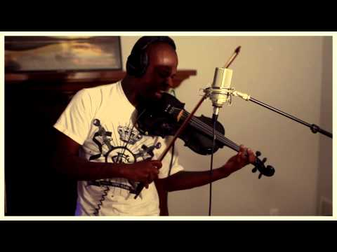 Dubstep Violin Originator - The Mad Violinist (improv) - Bassnectar & E.Goulding Lights