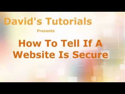 How To Tell If A Website Is Secure