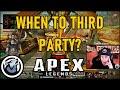 VISS WHEN TO THIRD PARTY! APEX LEGENDS SEASON 3