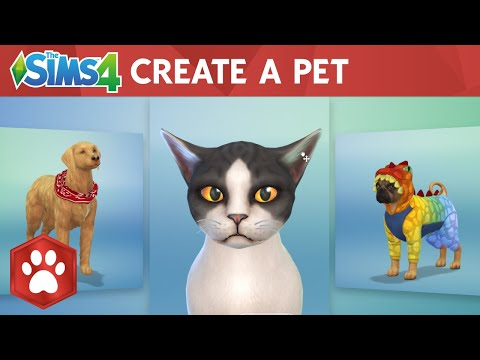 The Sims 4 Cats & Dogs: Create A Pet Official Gameplay Trailer