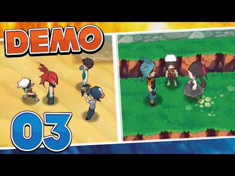 Pokémon Omega Ruby and Alpha Sapphire Demo - Part 3 | Gym Leaders!