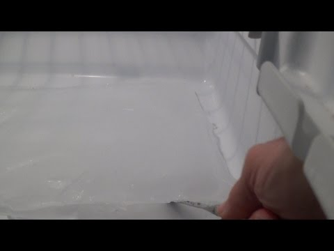 How to Unclog a Refrigerator Drain Line