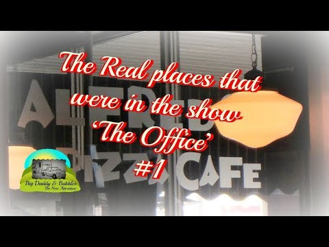 First stop at one of the real places from the TV show 'The Office'