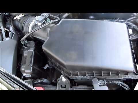 DIY 2013 2014 2015 2016 2017 Honda Accord Air Filter Replacement (i4 engine)