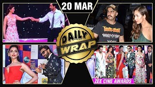 Ranbir Alia Performance, Ranveer Deepika Speech, Malaika Arjun Dinner Date | Top 10 News