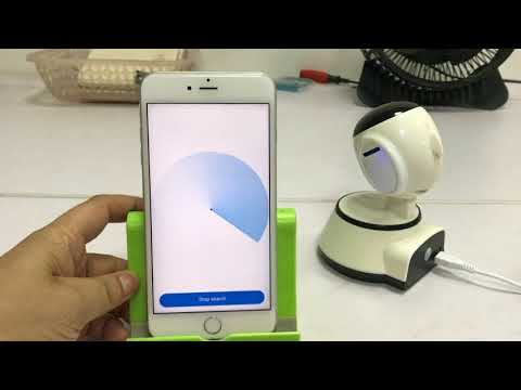 HD 720P Wifi IP Camera App V380 Configuration for iPhone