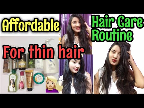 INDIAN HAIR CARE ROUTINE FOR THIN HAIR | How To Get long Shiny And Healthy Hair | Nukhrewali