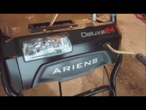 Ariens Deluxe 24 24-in Two-stage Gas Snow Blower Self-propelled