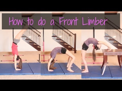 How to do a Front Limber
