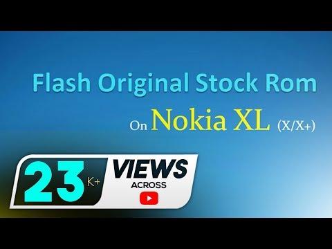Flash Original Stock Rom on Nokia XL (X/X+) using NX Flasher - Full tutorial