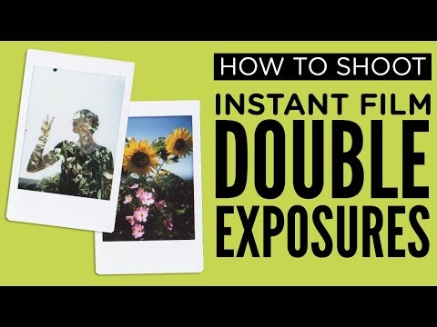 How To Do Instant Film Double Exposures