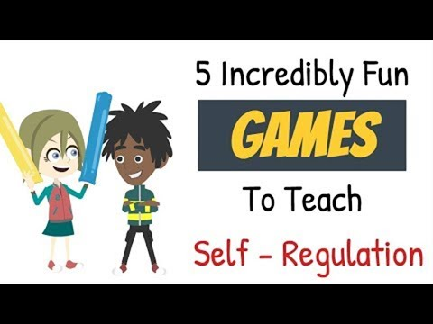 5 Incredibly Fun GAMES to Teach Self-Regulation (Self-Control) | Early Childhood Development