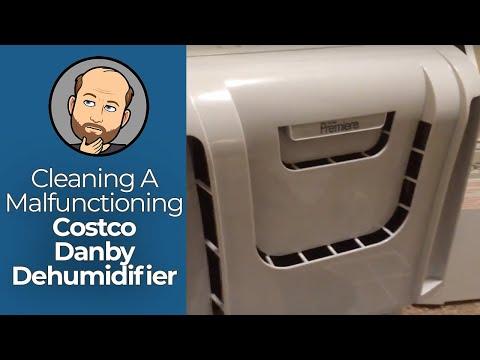 Cleaning A Costco Danby Premiere Dehumidifier | Mark David Zahn