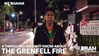 4 things you need to know about the GRENFELL FIRE