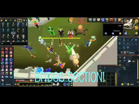 Feeding a smuggled item to baby troll pet in Runescape