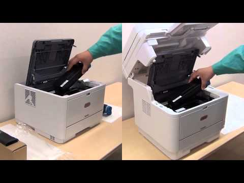 How to Install Toner in OKI Black and White Printers and MFPs