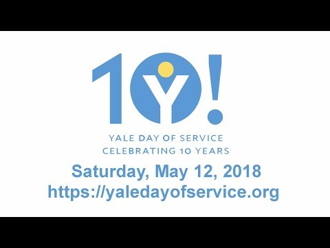 Get Ready for the Yale Day of Service 2018!