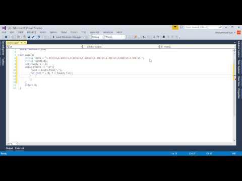 Break Long string into small strings in C++