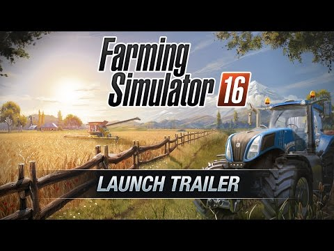 Farming Simulator 16 PSVita Launch Trailer