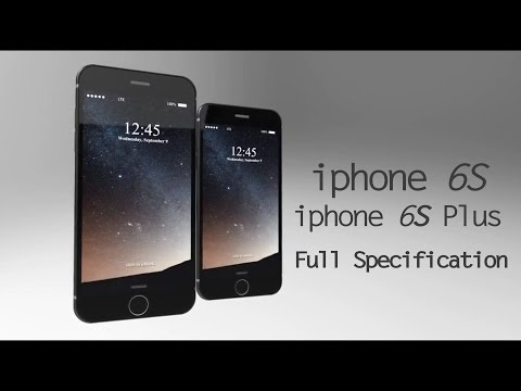 iphone 6s & iphone 6s Plus Specification