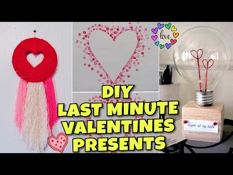 DIY LAST MINUTE VALENTINES GIFTS!!! | EASY & CUTE GIFTS FOR BOYFRIEND, GIRLFRIEND, FRIEND