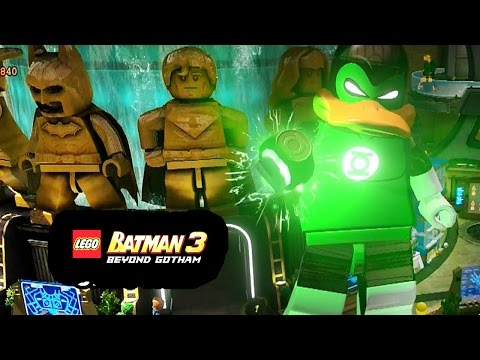 LEGO Batman 3: Beyond Gotham - How to Unlock Green Loontern + Review