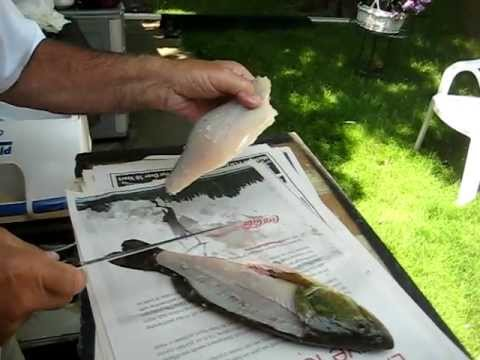 The ART of filleting a bass.