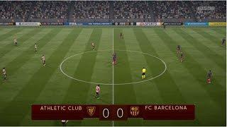 Athletic Bilbao vs FC Barcelona  COPA DEL REY  05/01/17 - FIFA 17 Predicts   Pirelli7