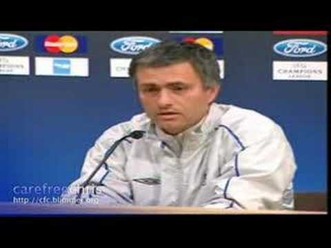 Remeber Jose Mourinho = The Special One