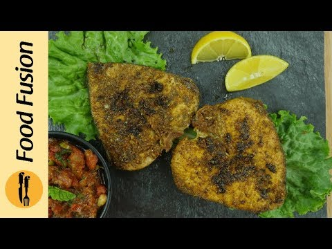 Fish fry with masala (Fried Fish) recipe by Food Fusion