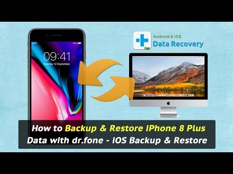 How to Backup & Restore iPhone 8 Plus Data with dr.fone - iOS Backup & Restore