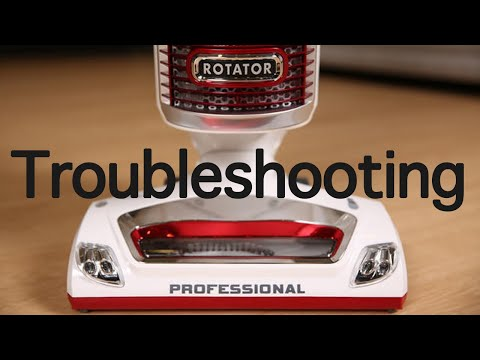 Shark Rotator Troubleshooting