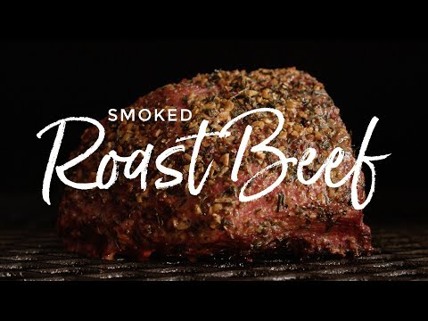 Smoked Roast Beef Sandwich