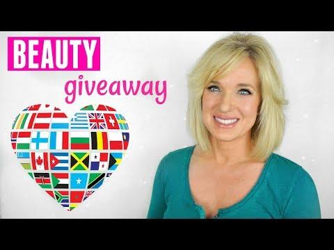 International ANTI-AGING Beauty GIVEAWAY!