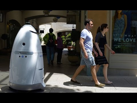 California Mall Implements Robot Security Guards