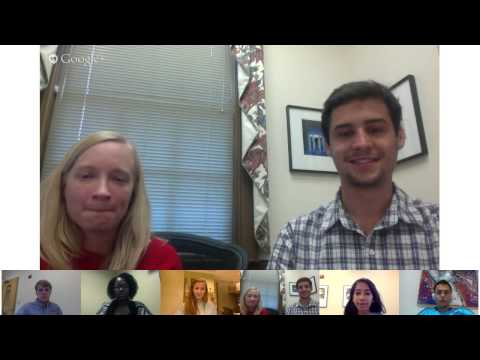 Hangout on Air with UNC Admissions