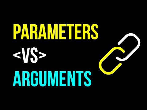 Parameters VS Arguments: DECODED