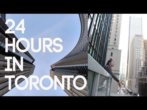 24 Hours In Toronto - Travel Vlog    Gastrofork.ca