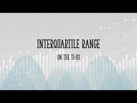TI 83 Interquartile Range