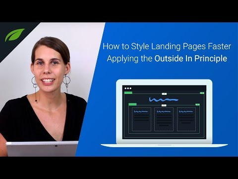 Style Landing Pages Faster Applying the Outside In Principle