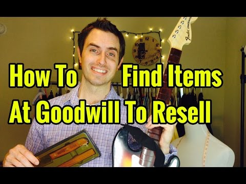 How To Find Items At Goodwill To Resell on eBay and Amazon