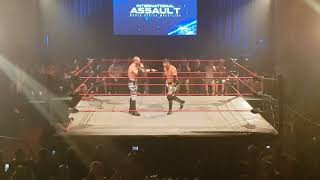 Austin Aries Insults World Series Wrestling Ring Condition
