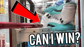 THERE'S JORDANS IN THIS ARCADE WINNERS CUBE !! CAN I WIN?   ClawBoss