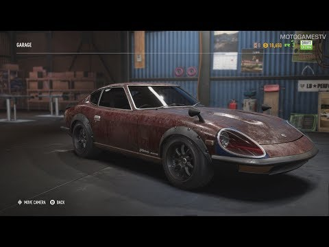Need for Speed Payback - Nissan Fairlady ZG 1971 Derelict Guide