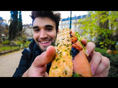 LIVING CHEAP in PARIS - SANDWICH CHALLENGE!