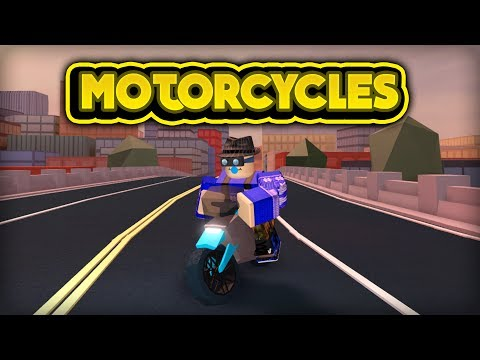 NEW MOTORCYCLES! (ROBLOX Jailbreak)