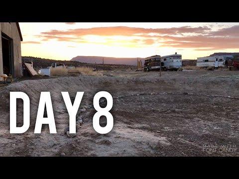 BUILDING A BACKYARD PUMP TRACK | DAY 8