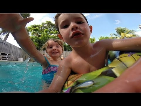 Valon & Royce - pool party @ Uncle Nick's