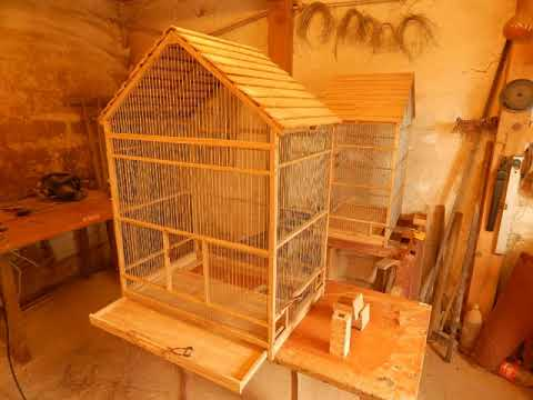Making a birdcage