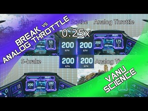 Vanu Science: Manual Brake or Analog Throttle?